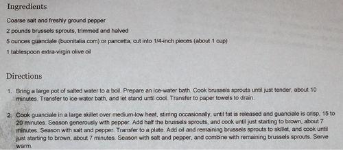 A_recipe